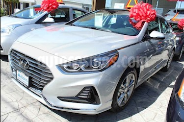Foto venta Auto usado Hyundai Sonata Limited NAV. (2018) color Plata precio $399,000