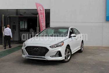 Hyundai Sonata Limited NAVI usado (2018) color Blanco precio $339,000