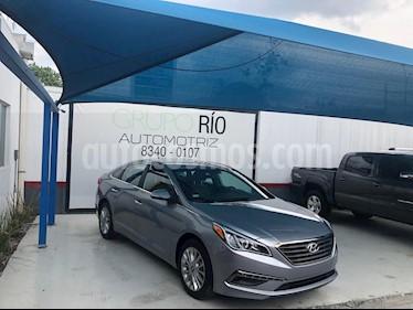 Foto venta Auto usado Hyundai Sonata Limited (2015) color Plata precio $206,000