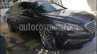 Hyundai Sonata Limited usado (2015) color Negro precio $210,000