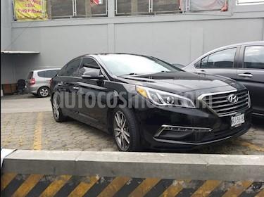 Hyundai Sonata Limited NAV. usado (2015) color Negro precio $208,000