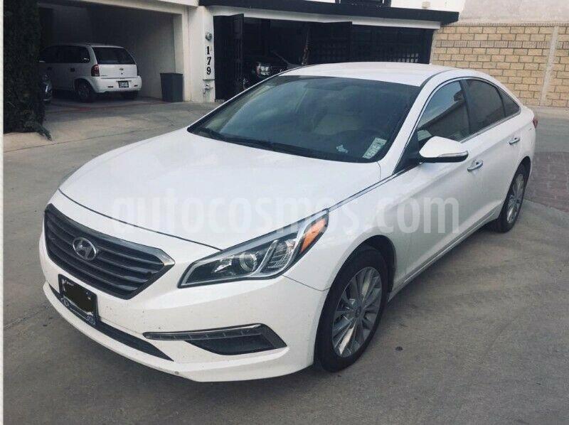 Hyundai Sonata Premium usado (2016) color Blanco precio $223,000