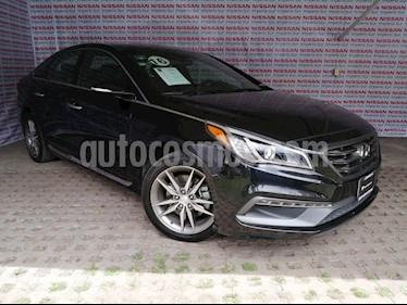 Foto Hyundai Sonata Sport 2.0T usado (2016) color Negro precio $285,000