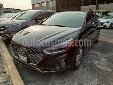 Hyundai Sonata Sport 2.0T usado (2018) color Negro precio $390,000