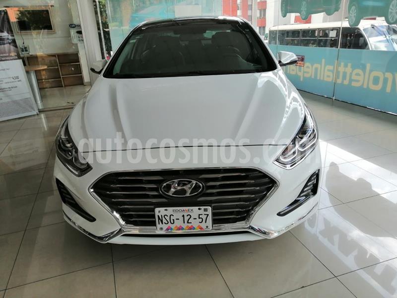 Hyundai Sonata Limited NAVI usado (2018) color Blanco precio $350,000