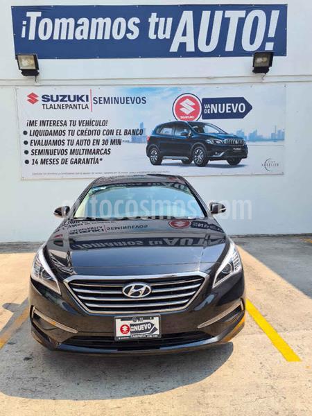 Hyundai Sonata Limited NAVI usado (2017) color Negro precio $290,000