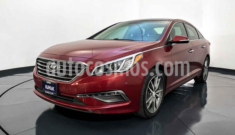Hyundai Sonata Limited NAVI usado (2015) color Rojo precio $227,999