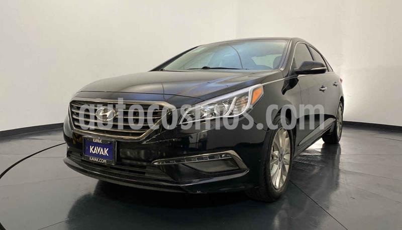 Hyundai Sonata Premium usado (2015) color Negro precio $209,999