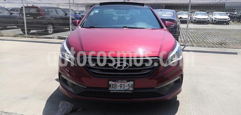 Hyundai Sonata Sport 2.0T usado (2016) color Rojo precio $255,000