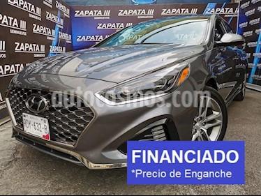Hyundai Sonata Sport 2.0T usado (2018) color Gris precio $81,250