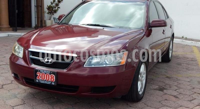Hyundai Sonata GLS usado (2008) color Rojo precio $92,500