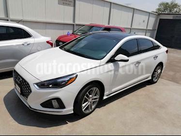 Hyundai Sonata 5p Sport L4/2.0/T Aut usado (2018) color Blanco precio $359,000