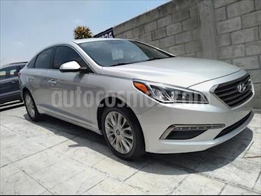 Hyundai Sonata GLS usado (2015) color Plata precio $215,000