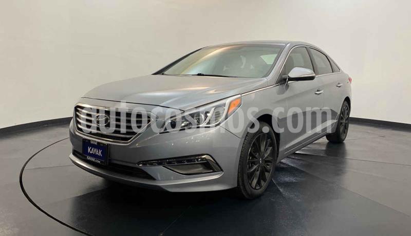 Hyundai Sonata Premium usado (2015) color Gris precio $212,999