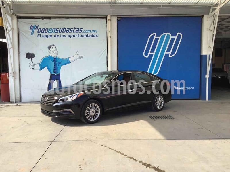 Hyundai Sonata Premium usado (2015) color Negro precio $120,000