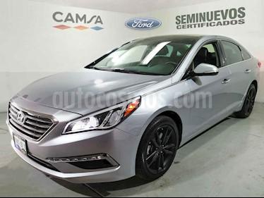 Hyundai Sonata 5p Limited L4/2.4 Aut Nave usado (2017) color Plata precio $269,900