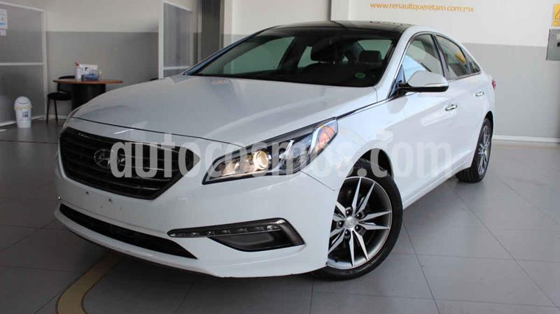 Hyundai Sonata Limited NAVI usado (2016) color Blanco precio $225,000