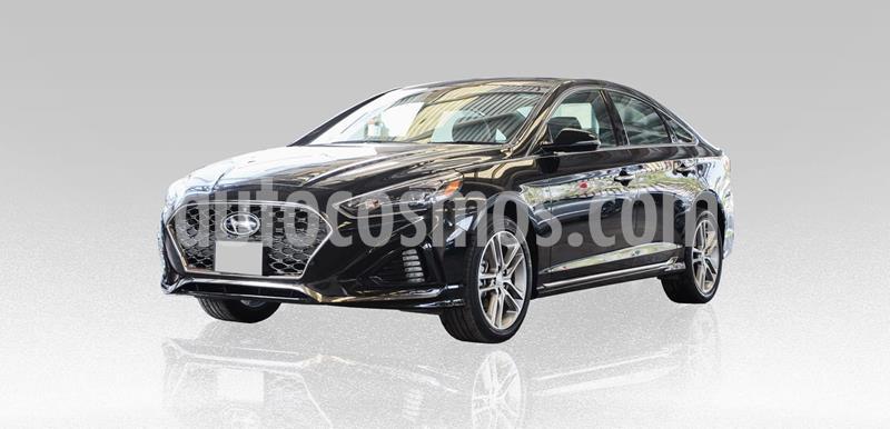 Hyundai Sonata Sport 2.0T usado (2018) color Negro precio $305,000