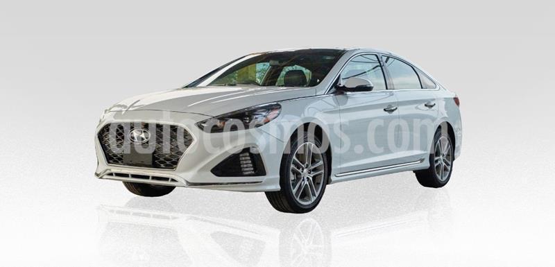 Hyundai Sonata Sport 2.0T usado (2018) color Blanco precio $329,000