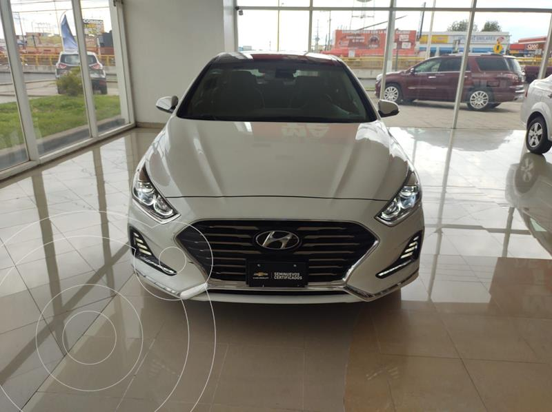 Foto Hyundai Sonata Limited NAVI usado (2018) color Blanco precio $330,000
