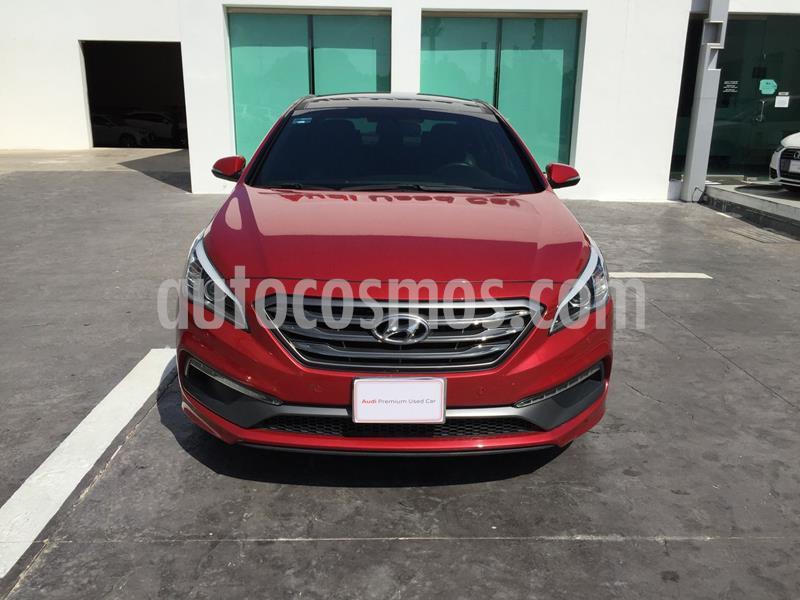 Hyundai Sonata Sport 2.0T usado (2017) color Rojo precio $290,000