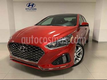 Hyundai Sonata 5p Sport L4/2.0/T Aut usado (2018) color Rojo precio $455,485
