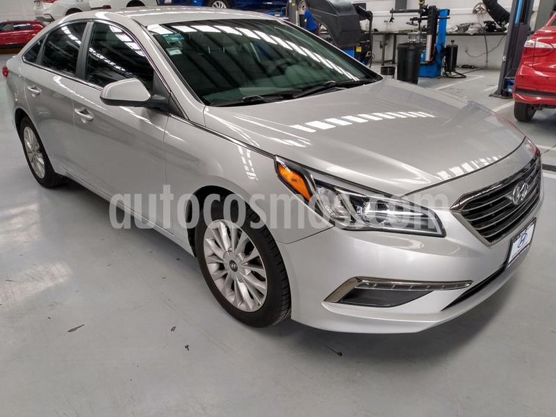 Hyundai Sonata GLS usado (2016) color Plata Dorado precio $219,000