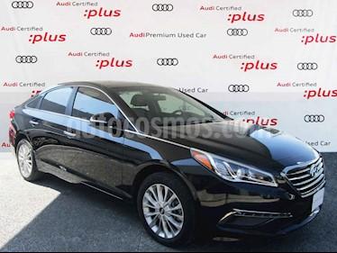 Hyundai Sonata 5p Premium L4/2.4 Aut usado (2017) color Negro precio $260,000