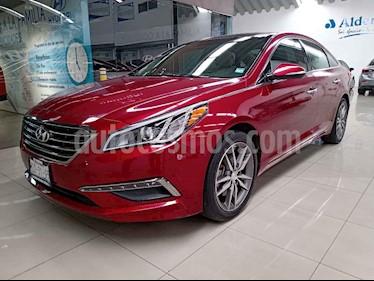 Hyundai Sonata 5p Limited L4/2.4 Aut usado (2015) color Rojo precio $210,000