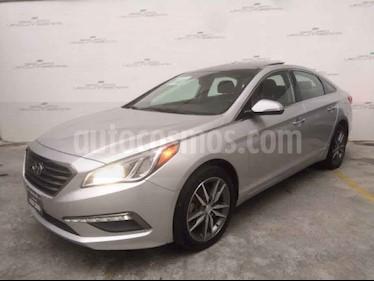 Hyundai Sonata Limited L4/2.4 Aut usado (2016) color Plata precio $244,000