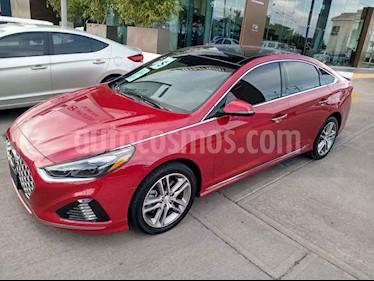 Hyundai Sonata 5p Sport L4/2.0/T Aut usado (2018) color Rojo precio $365,000