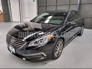 Foto Hyundai Sonata 4P LIMITED 2.4L TA CLIMATRONIC PIEL QCP RA-18 usado (2015) color Negro precio $260,000