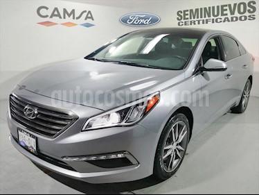 Hyundai Sonata Limited NAVI usado (2017) color Plata precio $240,900