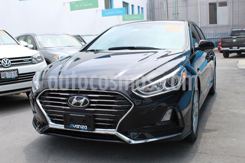 Hyundai Sonata GLS usado (2018) color Negro precio $268,000