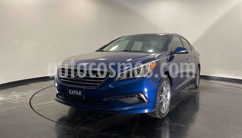 Hyundai Sonata Limited NAVI usado (2015) color Azul precio $229,999