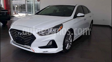 Hyundai Sonata 5p Premium L4/2.4 Aut usado (2018) color Blanco precio $289,000