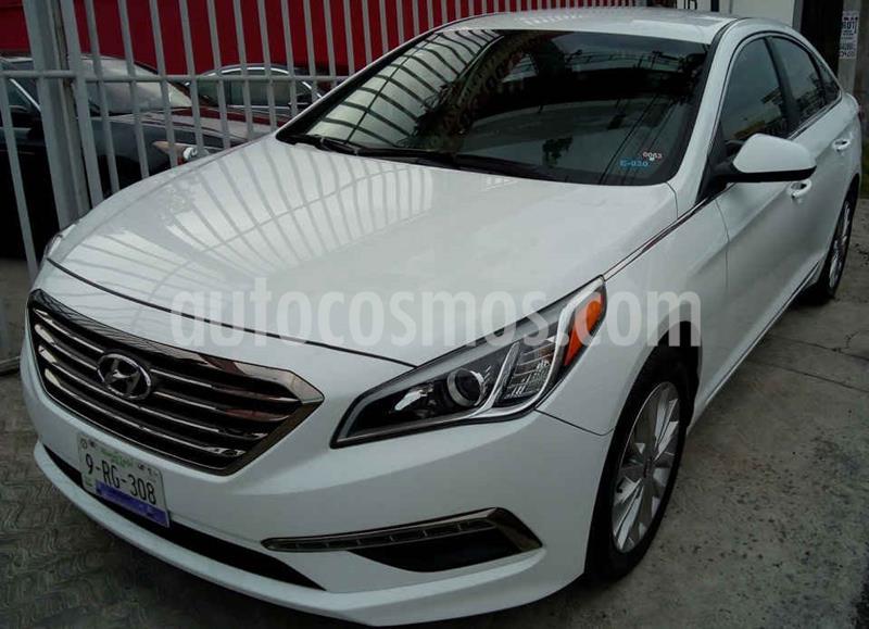 Hyundai Sonata GLS usado (2016) color Blanco precio $208,000