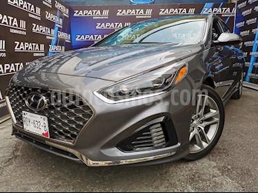 Hyundai Sonata Sport 2.0T usado (2018) color Gris precio $325,000