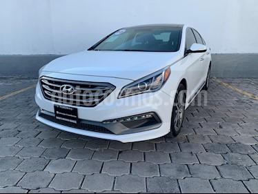Hyundai Sonata Sport 2.0T usado (2016) color Blanco precio $265,000