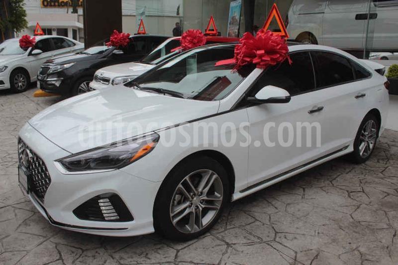 Hyundai Sonata Sport 2.0T usado (2018) color Blanco precio $359,000
