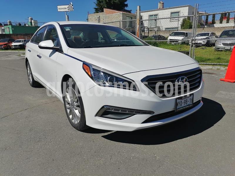 Hyundai Sonata Limited usado (2016) color Blanco precio $219,000