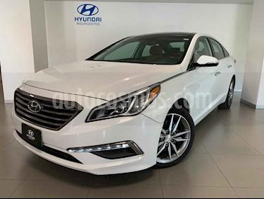 Hyundai Sonata Limited NAVI usado (2015) color Blanco precio $240,000