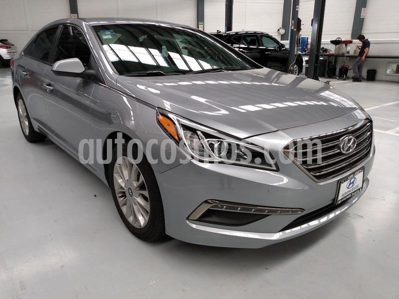 Hyundai Sonata GLS usado (2016) color Gris precio $229,000
