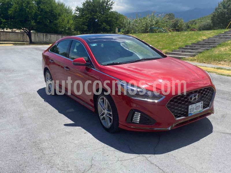 Hyundai Sonata Sport 2.0T usado (2018) color Rojo precio $329,000