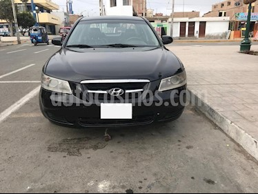 Hyundai Sonata 2.0L GL usado (2006) color Negro precio $4,900