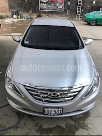 Hyundai Sonata GL usado (2016) color Gris Oscuro precio $4,500