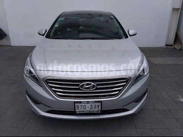 Foto venta Auto usado Hyundai Sonata Premium (2016) color Plata precio $240,000