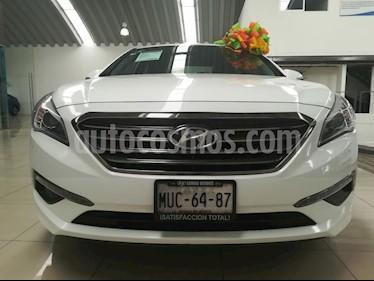 Foto venta Auto usado Hyundai Sonata Premium (2015) color Blanco precio $211,000