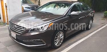 Foto venta Auto Seminuevo Hyundai Sonata Premium (2015) color Marron precio $205,000