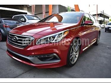 Foto venta Auto usado Hyundai Sonata SPORT 2.0 T (2017) color Rojo precio $339,000